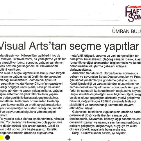 2009, 30; Oktet; School of Visual Arts'tan seçme yapıtlar