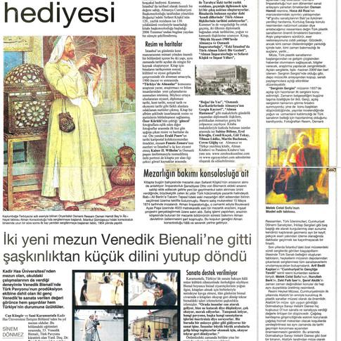 2009, 29; Resim Heykel Müzesi ve Serginin Sergisi'nden esinler