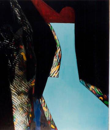 Özgürlük. T.Ü.Y.B. 132 x 112 cm. 1994.
