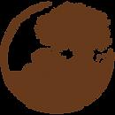 Logo PeLa Schrift innen braun.png