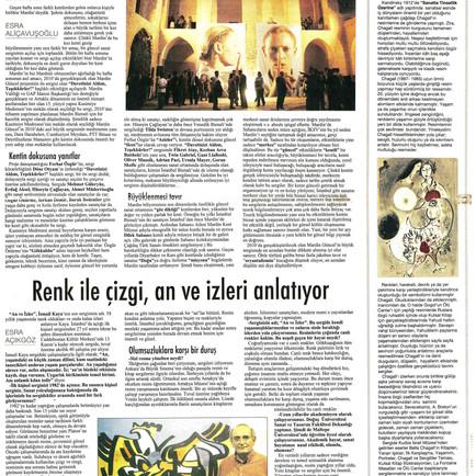 2009, 36; Chagall'ın büyüleyici dansı