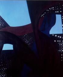 Ayrılık. T.Ü.Y.B. 132 x 112 cm. 1994.