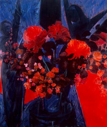 Özgürlük 2. T.Ü.Y.B. 133 x 112 cm. 1994.