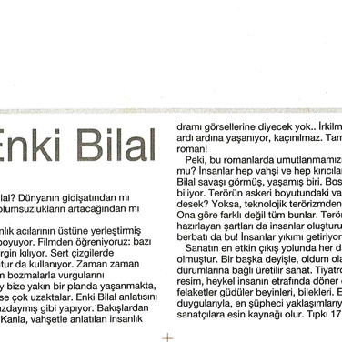 2009, 13; Enes Bilaloviç - Enki Bilal