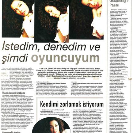2009, 39; Şakir Gökrçebağ'ın Pazarı