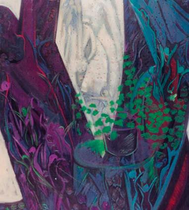 Yaşama Dair 1. T.Ü.Y.B. 81 x 102 cm. 1995.