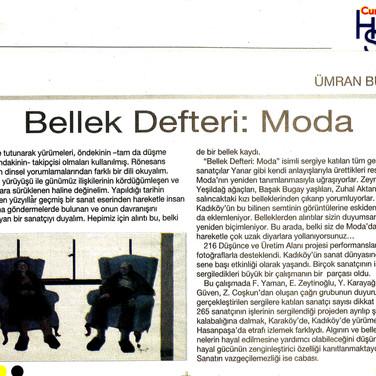2009, 35; Bellek Detferi; Moda