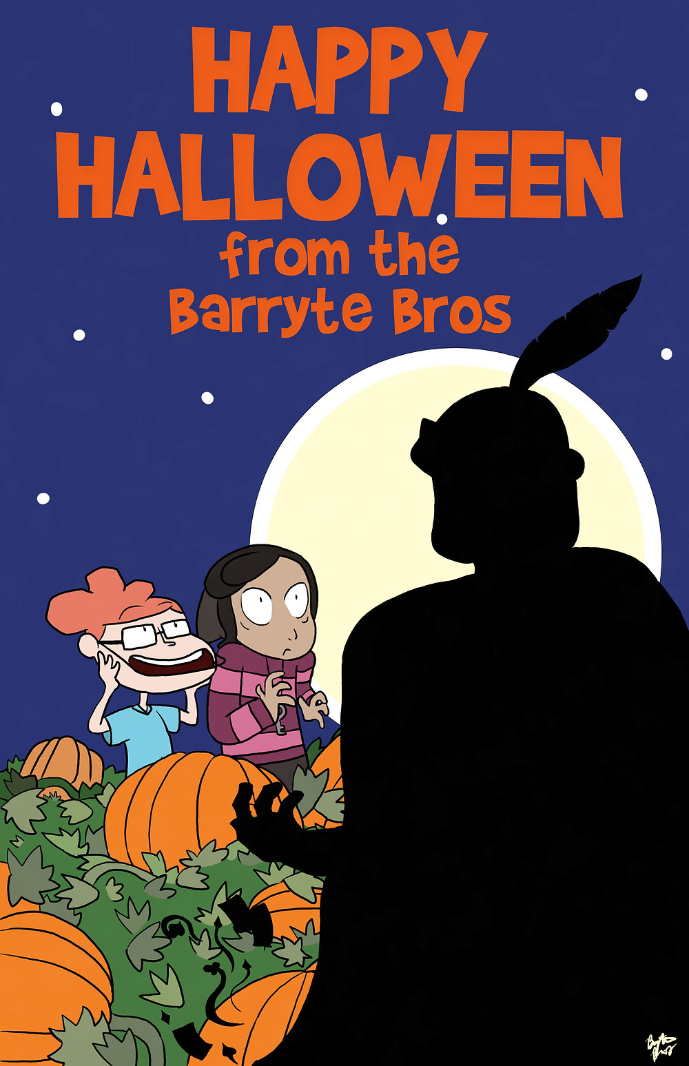 Happy Halloween from the Barryte Bros