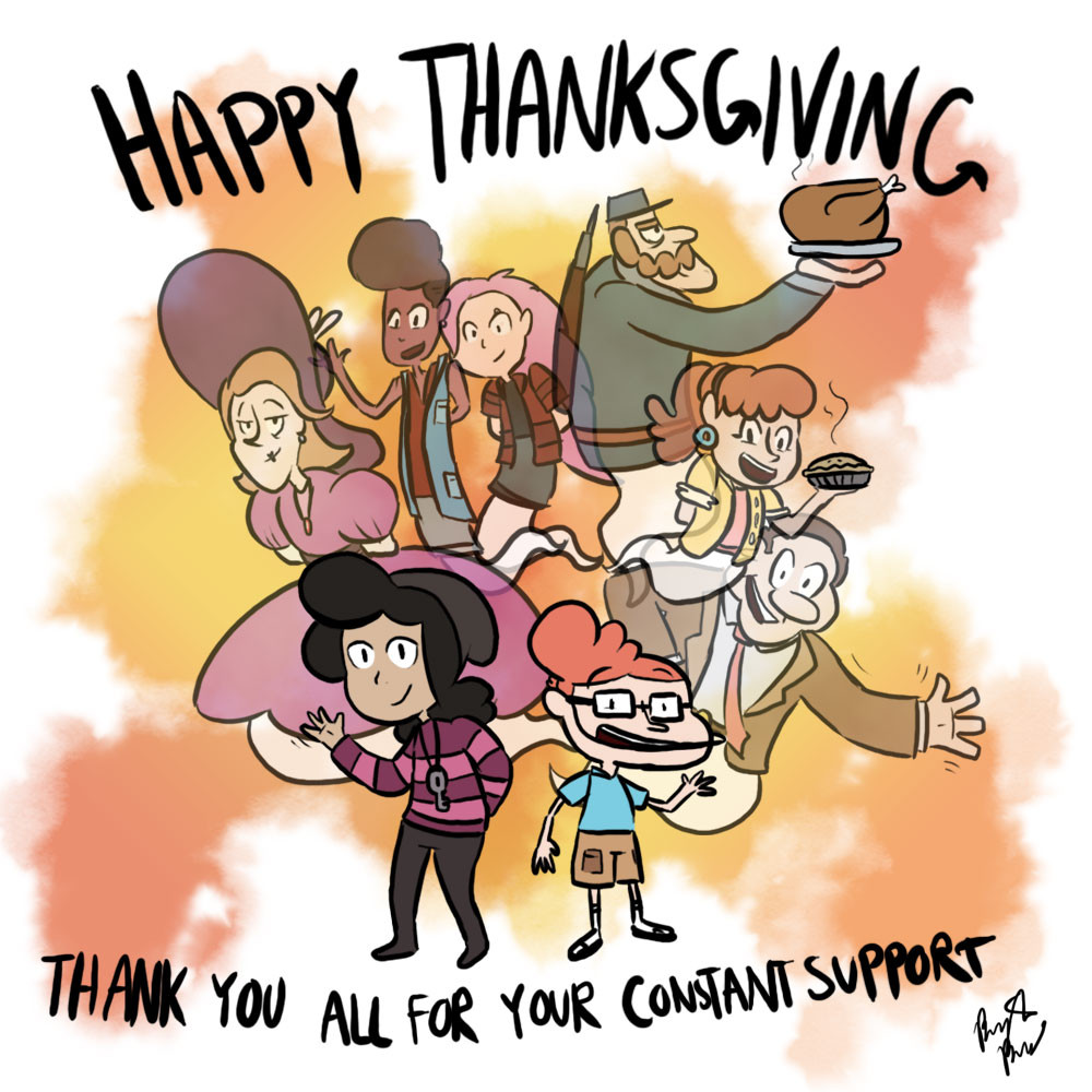 Happy Thanksgiving - Thank you all for your constant support!