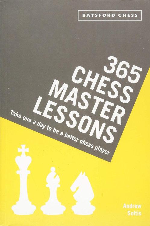 """365 Chess Master Lessons"" Andrew Soltis"