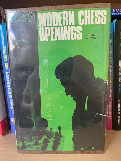 MODERN CHESS OPENINGS.LARRY EVANS AND WALTER KORN.