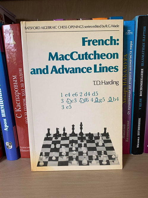 French: MacCutcheon and Advance Lines. T.D.Harding