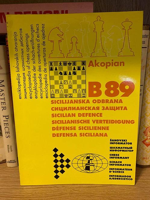 B89 Sicilian Sozin by Akopian