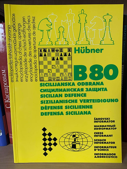B80 Sicilian Defence by Hubner