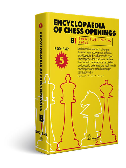 Encyclopaedia Of Chess Openings, Volume B - Part 1