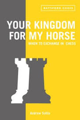 """Your kingdom for my horse"" Andrew Soltis"