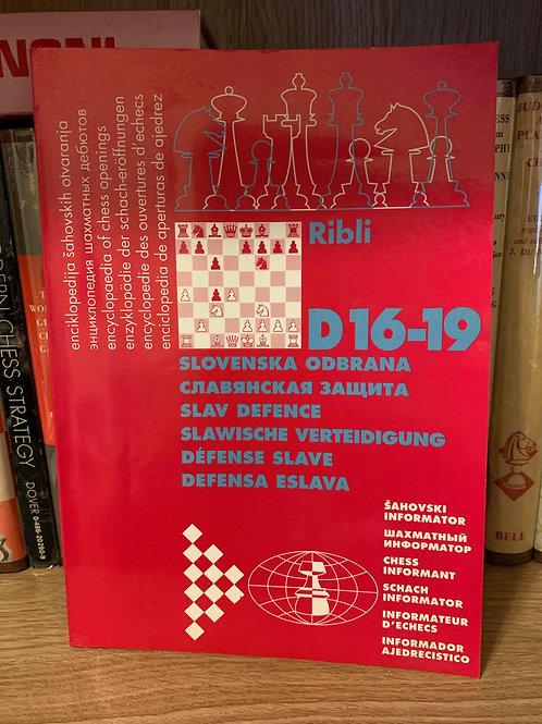 D16-19 Slav Defence by Ribli