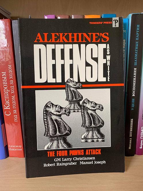 Alekhine's Defence as white.The four pawns attack. Christiansen, Raingruber