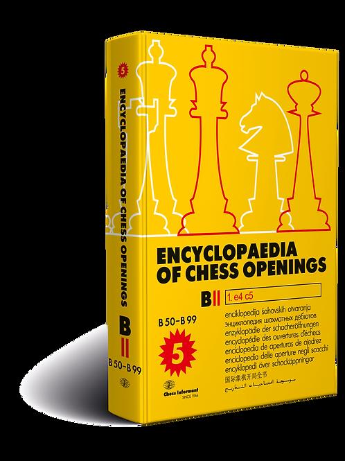 Encyclopaedia of Chess Openings Volume B – Part II