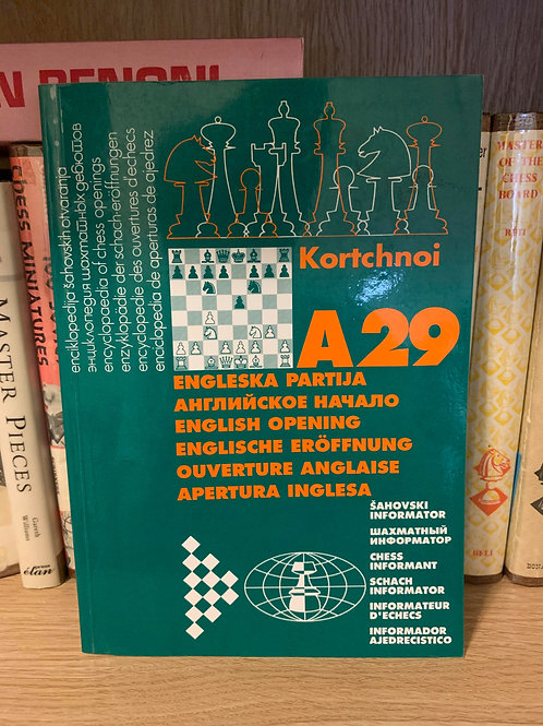 A29 English opening by Kortchnoi