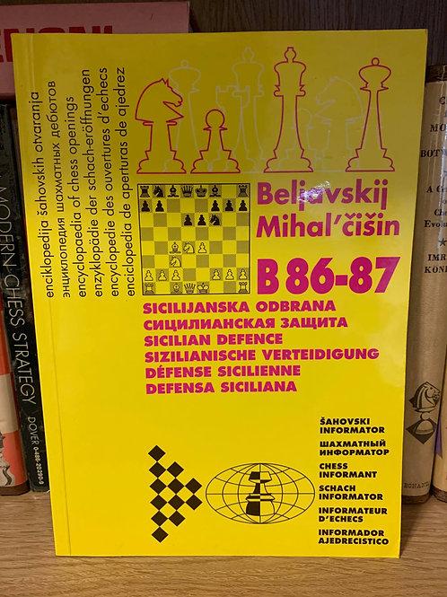 B86-87 Sicilian Sozin by Beliavsky & Mikhalchishin