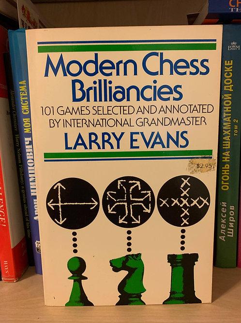 Modern Chess Brilliancies. Larry Evans