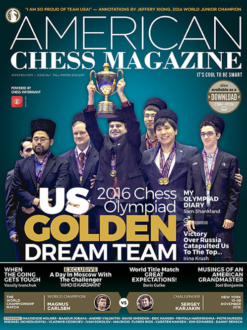 AMERICAN CHESS MAGAZINE #1