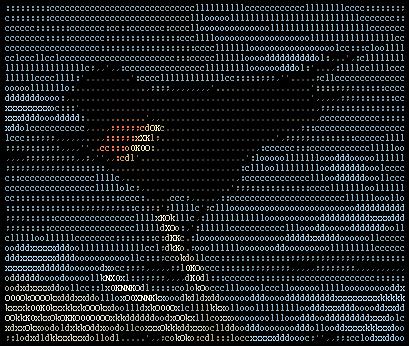 image from wikipedia : Ascii Art