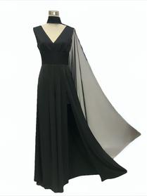 Goddess jumpsuit, black, 559€