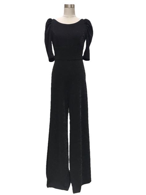 Polina jumpsuit, black moonlight, 299€