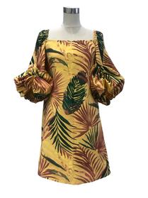 Frida, yellow print