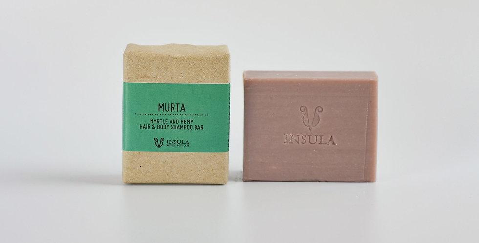 INSULA - LINEA CORPO - MURTA - Doccia Shampoo Solido