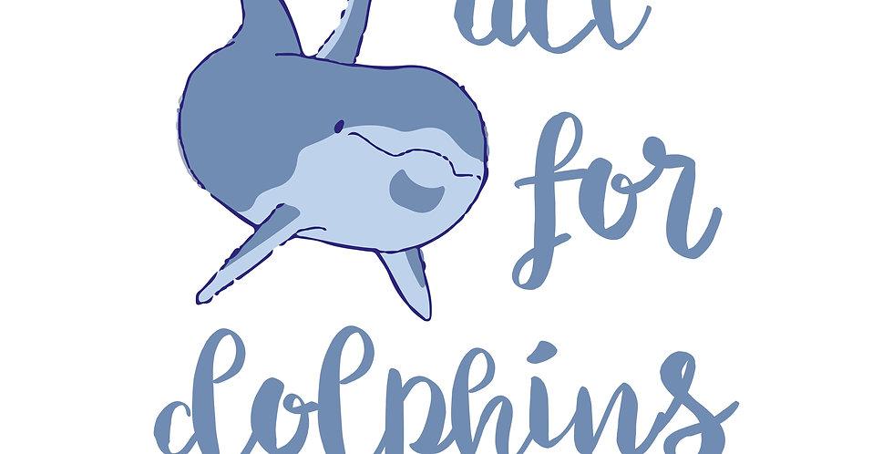 t-shirt dei delfini bimbi
