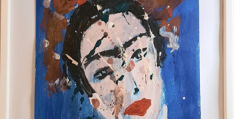 Ana Maria Serna - Quando dipinge Frida