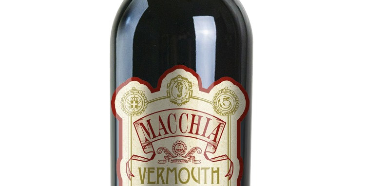 MACCHIA VERMOUTH MEDITERRANEO Vermouth Rosso al Mirto