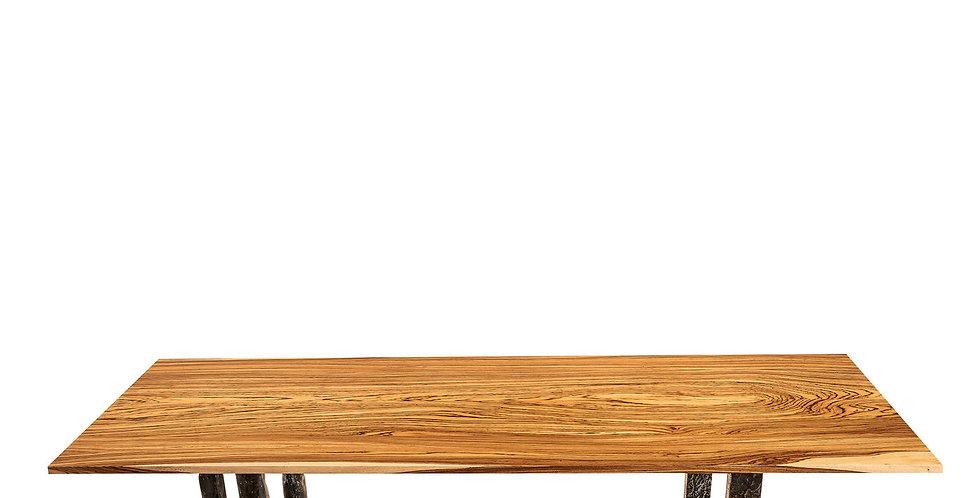 FALEGNAMERIA SALVATORE SPANO - Rectangular Zebrano Table