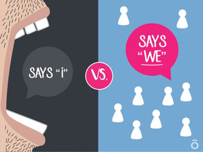 "What Language Do You Use? The ""We"" or ""I""?"
