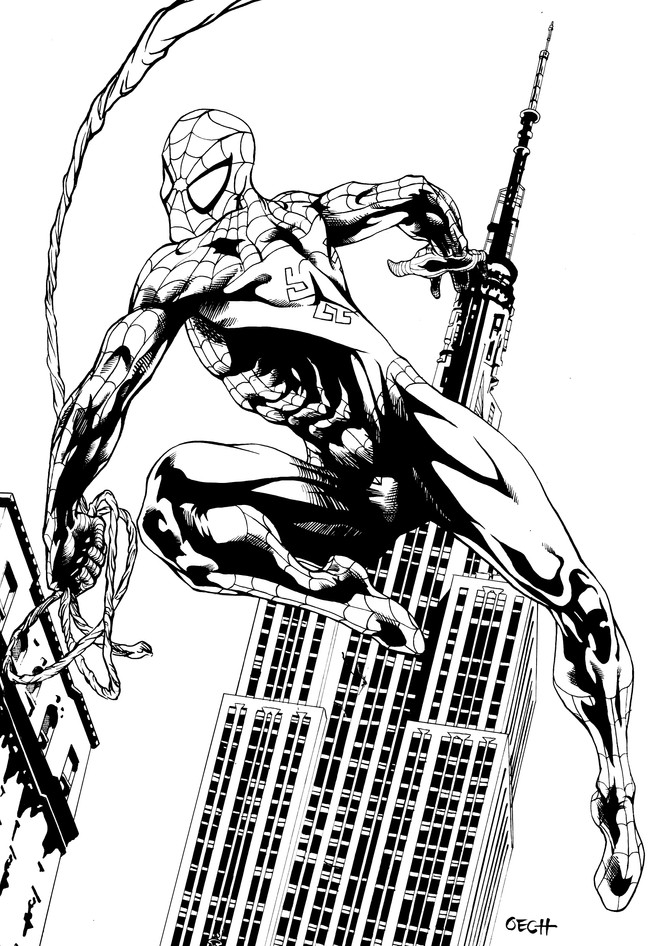 Spider-Man Inks