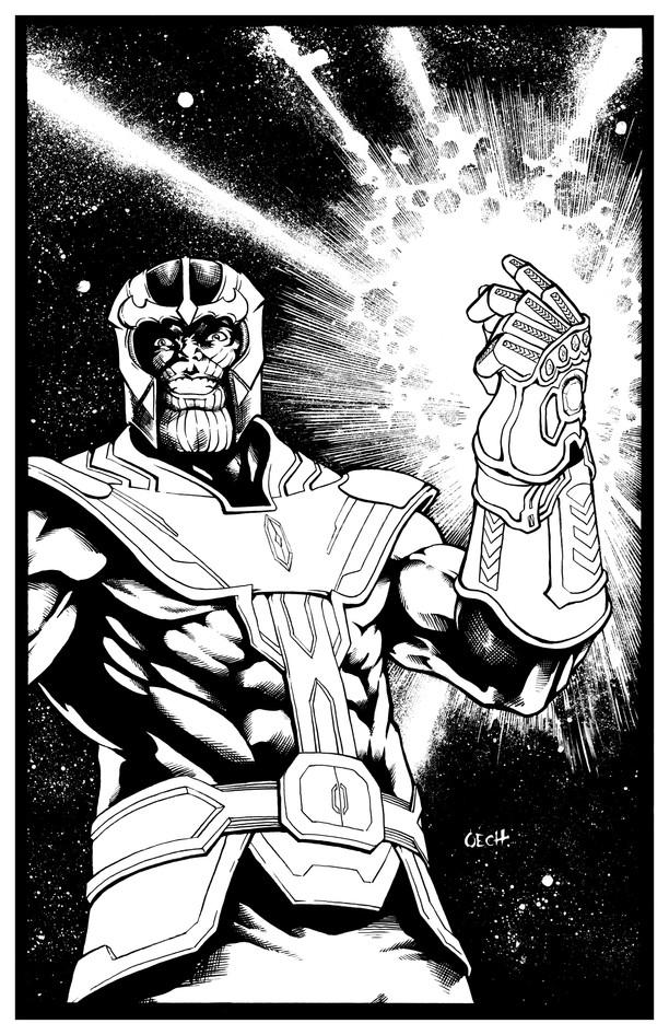 Thanos Pin-Up