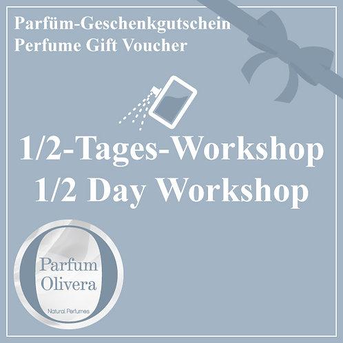 Geschenkgutschein für 1/2-Tages-Workshop für Ihr individuelles Parfüm