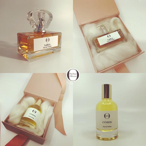 Individual womens perfumes