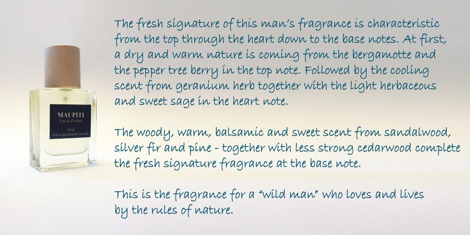 Individual mens perfume