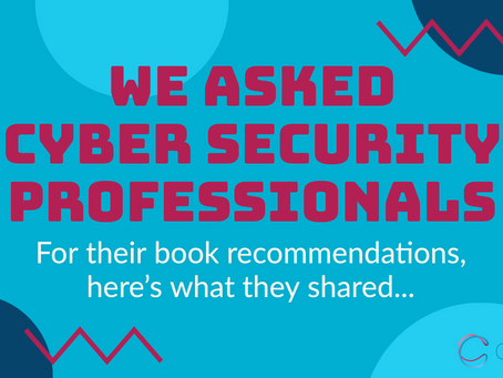 We asked cyber security professionals for their book recommendations 📖