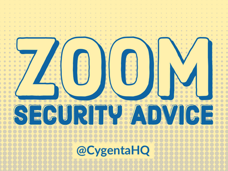 Zoom Security Advice