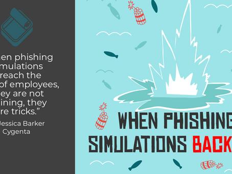 When Phishing Simulations Backfire