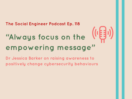 What does the psychology of fear have to do with cybersecurity?