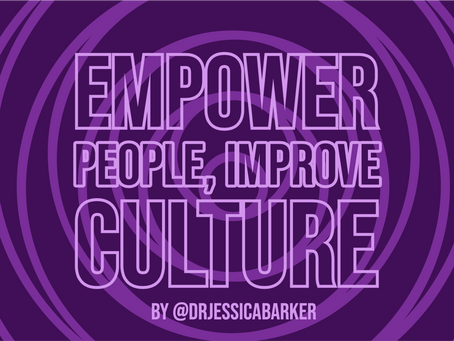 Empower People, Improve Culture