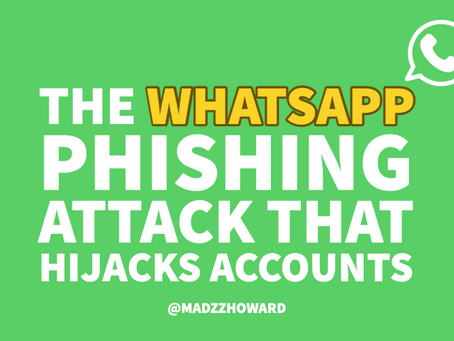 The WhatsApp Phishing Attack that Hijacks Accounts