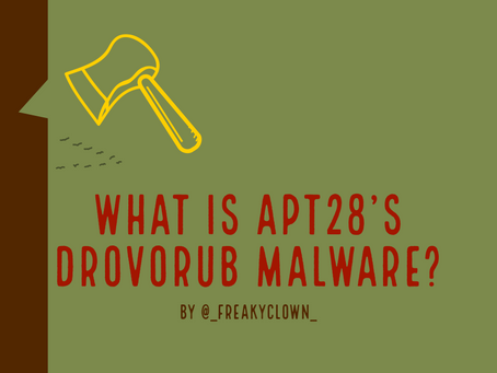 What is APT28's Drovorub Malware?