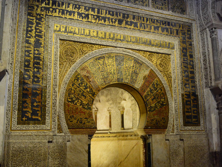 A cathedral inside a mosque, Cordoba .